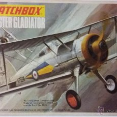 Maquetas: GLOSTER GLADIATOR. MATCHBOX 1/72. Lote 55099806