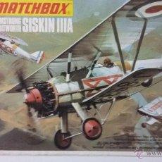 Maquetas: ARMSTRONG WITHWORTH SISKIN IIIA. MATCHBOX 1/72. Lote 125191647