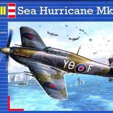 Maquetas: MAQUETA DEL CAZA HAWKER SEA HURRICANE MK.IIC DE REVELL A 1/72. Lote 136500954