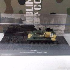 Maquetas: SU-76M - COLECCION BLINDADOS DE COMBATE - Nº 58 - ALTAYA. Lote 55395933