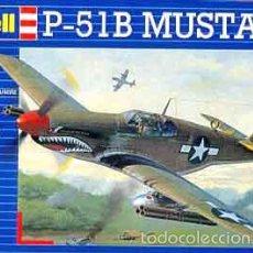 Maquetas: MAQUETA DEL CAZA NORTH AMERICAN P-51B MUSTANG DE REVELL A 1/72. Lote 56115065