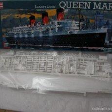 Maquettes: GRAN MAQUETA BARCO QUEEN MARY NUEVA SIN USAR. Lote 214948915