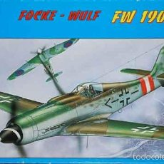 Maquetas: MAQUETA DEL CAZA ALEMÁN FOCKE WULF FW 190D-9 DEL AS GERHARD BARKHON DE BILEK A 1/72. Lote 56644954