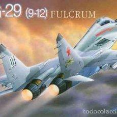 Maquetas: MAQUETA DEL CAZA SUPERSÓNICO RUSO MIG-29 FULCRUM (SERIE 9-12) DE CONDOR A 1/72. Lote 56644984