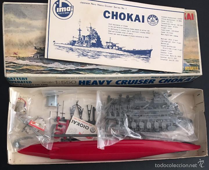 Maquetas: maqueta modelismo barco motorizado imai battleship kongo - Foto 2 - 56694008
