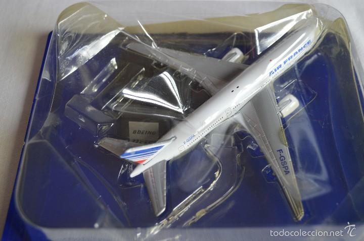 Maquetas: Boeing 777-200 Air France. Top air collection. RBA. romanjuguetesymas. - Foto 2 - 100988190