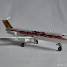 Maquetas: MCDONNELL DOUGLAS DC-9 CONTINENTAL. ERTL. ROMANJUGUETESYMAS.. Lote 56843128