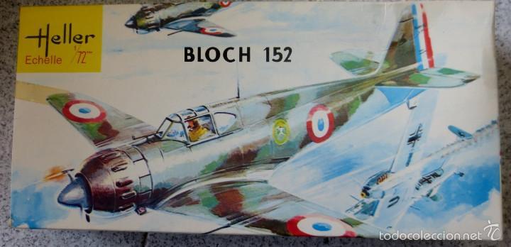 AVIÓN BLOCH 152 HELLER ECHELLE 1/72 EN CAJA (Juguetes - Modelismo y Radio Control - Maquetas - Aviones y Helicópteros)