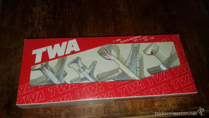 AVIONES TWA (Juguetes - Modelismo y Radio Control - Maquetas - Aviones y Helicópteros)