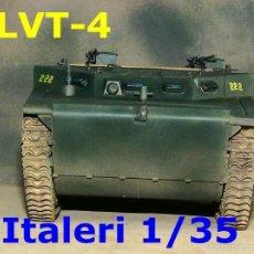 Maquetas: LVT-4 INFANTERÍA DE MARINA. Lote 57061156
