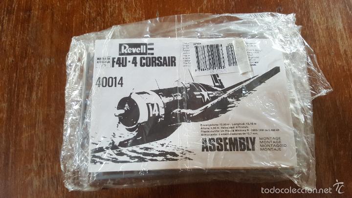F4U 4 CORSAIR REVELL NUEVO SIN ABRIR (Juguetes - Modelismo y Radio Control - Maquetas - Aviones y Helicópteros)