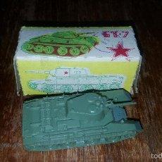 Maquetas: TANQUE SOVIETICO. Lote 57188708