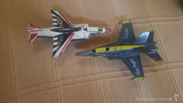 AVIONES USAF METALICOS (Juguetes - Modelismo y Radio Control - Maquetas - Aviones y Helicópteros)