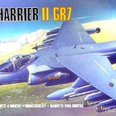 Maquettes: MAQUETA DEL CAZA BRITÁNICO BAE HARRIER II GR.7 DE AIRFIX A ESCALA 1/72 ¡AHORA REBAJADO!. Lote 57243252