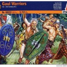 Macchiette: ITALERI - GAUL WARRIORS 6022 1/72. Lote 57315230