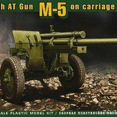Maquetas: ACE 72528 U.S. 3INCH ANTI-TANK GUN M-5 ON CARRIAGE M-1 1/72. Lote 57555580