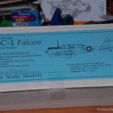 Macchiette: SIERRA SCALE MODELS - CURTIS WRIGHT SNC-1 FALCON 1/48 RESINA Y METAL. Lote 57627721