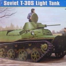 Maquetas: HOBBY BOSS 83824 SOVIET T-30S LIGHT TANK 1/35. Lote 57630127