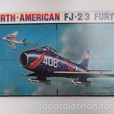 Maquetas: ESCI - NORTH AMERICAN FJ-2/3 FURY 1/48 4042. Lote 210937860