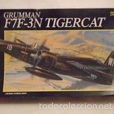 Maquetas: AMT - GRUMMAN F7F-3N TIGERCAT 1/48 8842 + HI TECH 48043 MORRO RESINA. Lote 57672816
