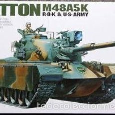 Maquetas: ACADEMY - M48A5/K PATTON 1/35 1355. Lote 57695010