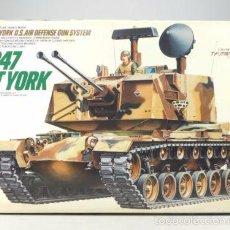 Maquetas: TAMIYA - M247 SGT YORK U.S. AIR DEFENSE GUN SYSTEM 1/35 3626. Lote 57769694