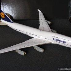 Maquetas: EDICIÓN CONMEMORATIVA LUFTHANSA. BOEING 747 ESCALA 1:200 DE HERPA NUMERADA.. Lote 58598686