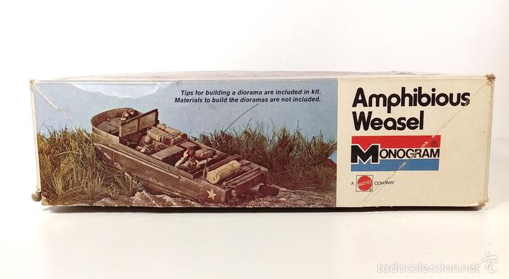 Maquetas: CAJA VACÍA - AMPHIBIOUS WEASEL - MONOGRAM - AÑOS 70 - Foto 2 - 194140642