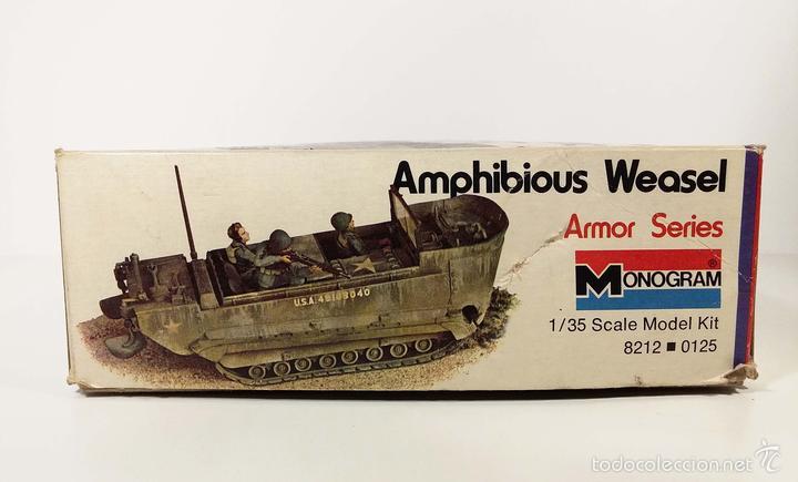 Maquetas: CAJA VACÍA - AMPHIBIOUS WEASEL - MONOGRAM - AÑOS 70 - Foto 3 - 194140642