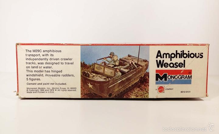 Maquetas: CAJA VACÍA - AMPHIBIOUS WEASEL - MONOGRAM - AÑOS 70 - Foto 4 - 194140642