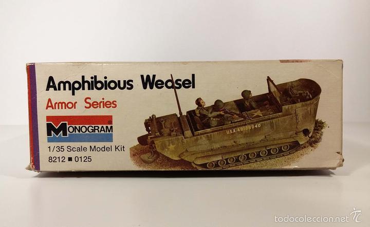Maquetas: CAJA VACÍA - AMPHIBIOUS WEASEL - MONOGRAM - AÑOS 70 - Foto 5 - 194140642