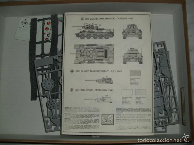Maquetas: MAQUETA CARRO DE COMBATE SOVIÉTICO T 34/76 DE 1943 . ESCALA 1:35 - ITALERI Nº 282 - Foto 2 - 59417495
