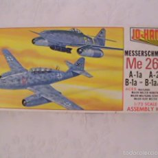 Maquetas: MAQUETA CAZA REACTOR MESSERSCHMITT 262 A-1A; A-2A; B-1A; B-1A/U1 - ESCALA 1:72 - JO-HAN (USA) 1976. Lote 59548099