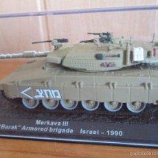 Maquettes: MAQUETA EN METAL CARRO DE COMBATE: MERKAVA III. Lote 262590385
