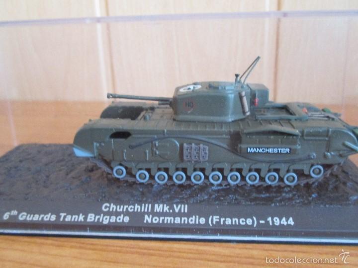 MAQUETA EN METAL CARRO DE COMBATE: CHURCHILL MK. VII (Juguetes - Modelismo y Radiocontrol - Maquetas - Militar)