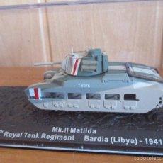 Maquetas: MAQUETA EN METAL CARRO DE COMBATE: MK. II MATILDA. Lote 263765510