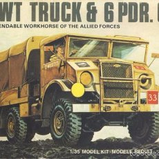 Maquetas: AIRFIX - CHEVROLET 15-CWT TRUCK AND SIX POUNDER GUN 1/35 REF 8367. Lote 60055499