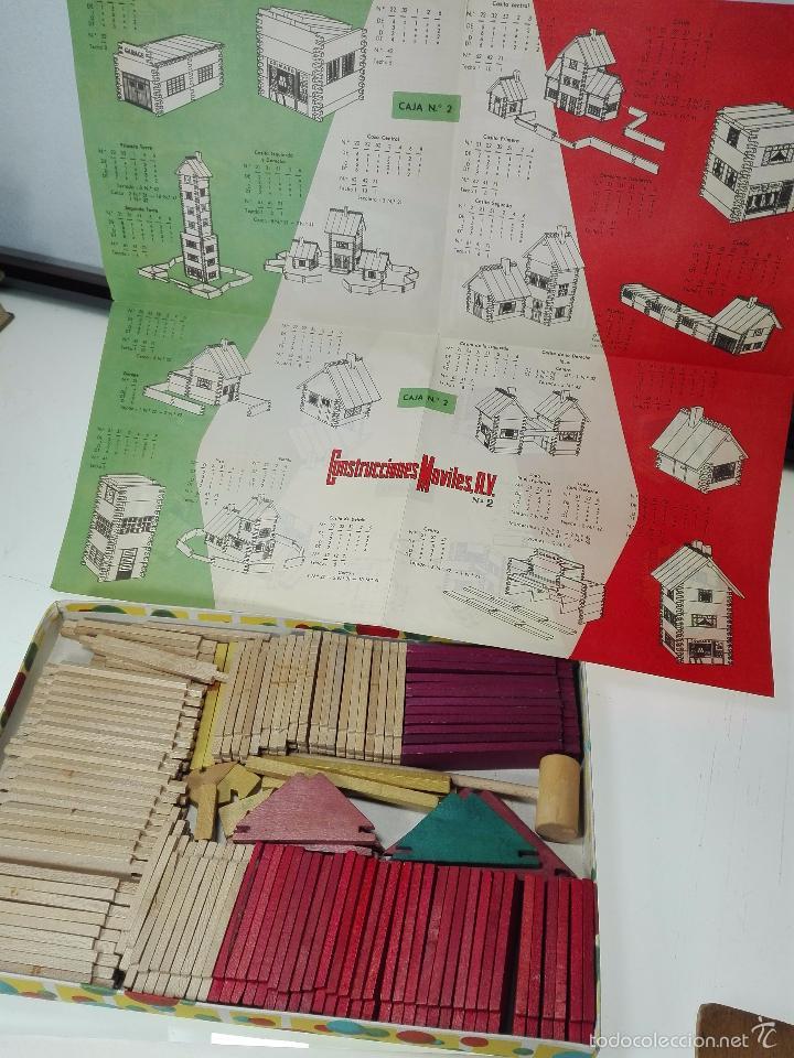 Maquetas: ANTIGUO JUEGO CONSTRUCCIONES MOVILES - Nº2 - NUEVA CONSTRUCCIÓN PATENTADA - - Foto 3 - 60205143