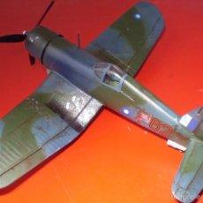 Maquetas: VOUGHT F4U-1D CORSAIR I. RNAF. HMS UNICORN JUNIO DE 1944. ESCALA 1/72. Lote 60308407