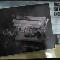 Maquetas: POCHER MAQUETA ESCALA 1/8 MOTOR BUGATTI 50T ART.KM/56. Lote 81811960
