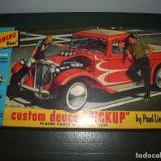 Maquetas: CUSTOM PICKUP, MADE IN USA, LINDBERG. Lote 61835012
