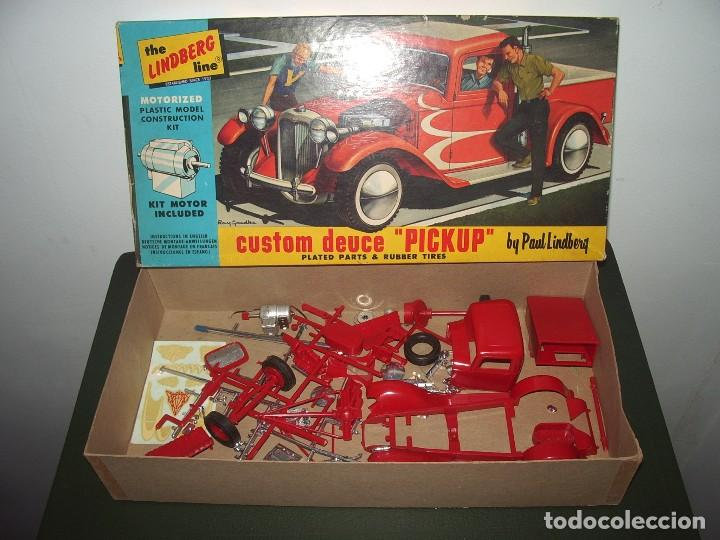 Maquetas: CUSTOM PICKUP, Made in USA, Lindberg - Foto 3 - 61835012