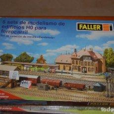 Maquetas: 31-221. 5 SETS DE MODELISMO DE EDIFICIOS HO PARA FERROCARRIL. Lote 62053968