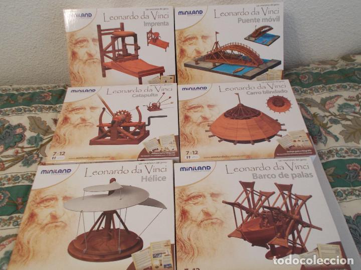 COLECCION DE INVENTOS DE LEONARDO DAVINCI DE LA CASA MINILAND DE ONIL (Juguetes - Modelismo y Radiocontrol - Maquetas - Otras Maquetas)