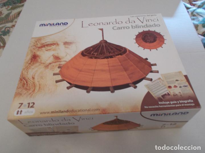 Maquetas: COLECCION DE INVENTOS DE LEONARDO DAVINCI DE LA CASA MINILAND DE ONIL - Foto 4 - 127790524