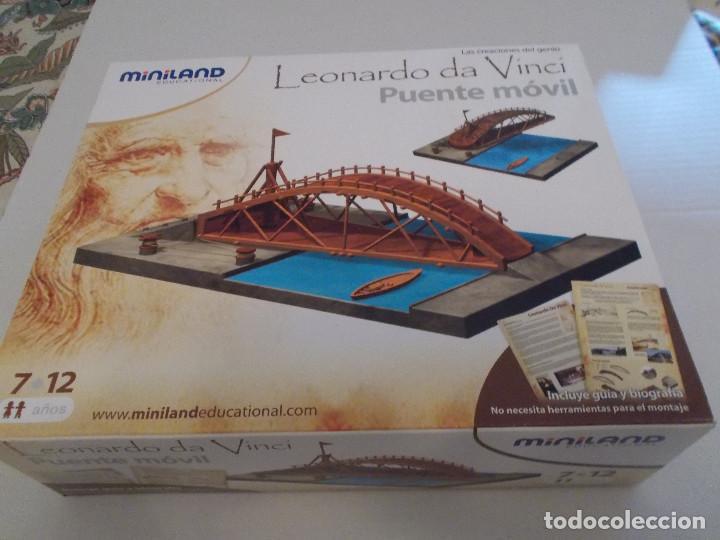 Maquetas: COLECCION DE INVENTOS DE LEONARDO DAVINCI DE LA CASA MINILAND DE ONIL - Foto 5 - 127790524