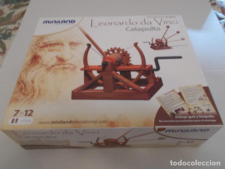 Maquetas: COLECCION DE INVENTOS DE LEONARDO DAVINCI DE LA CASA MINILAND DE ONIL - Foto 6 - 127790524