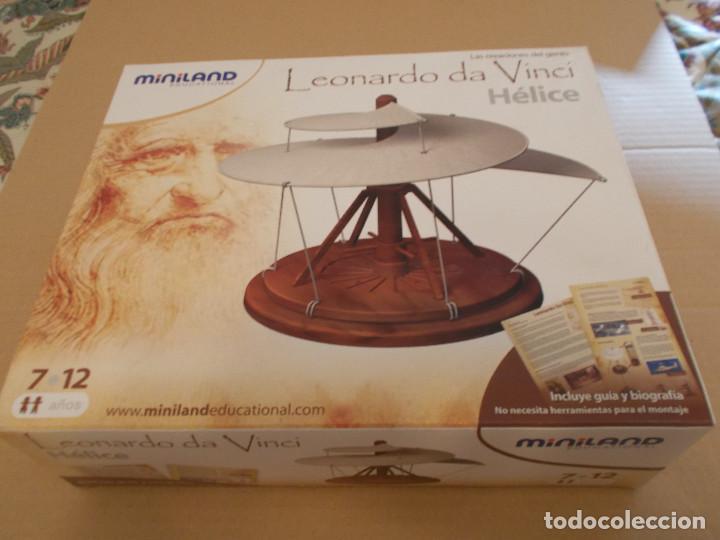 Maquetas: COLECCION DE INVENTOS DE LEONARDO DAVINCI DE LA CASA MINILAND DE ONIL - Foto 7 - 127790524