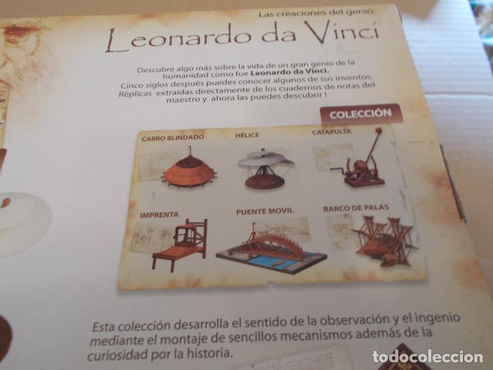 Maquetas: COLECCION DE INVENTOS DE LEONARDO DAVINCI DE LA CASA MINILAND DE ONIL - Foto 8 - 127790524