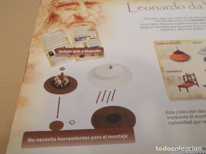 Maquetas: COLECCION DE INVENTOS DE LEONARDO DAVINCI DE LA CASA MINILAND DE ONIL - Foto 9 - 127790524